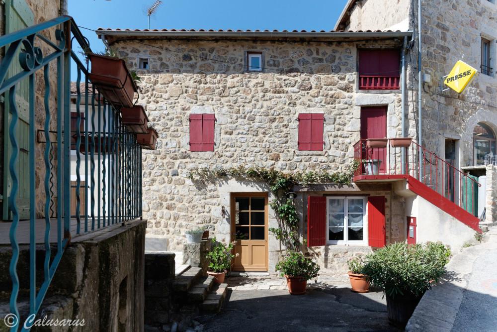 Ardeche Architecture Maison Saint-Pierreville