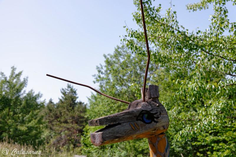 Art Animal Jardin Statue
