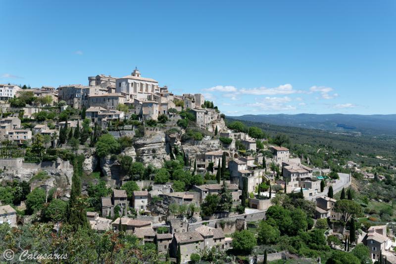 Paysage Gordes Village Vaucluse