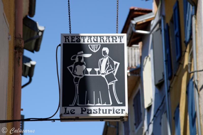 Enseigne Beaux-arts Gap Restaurant Ombres