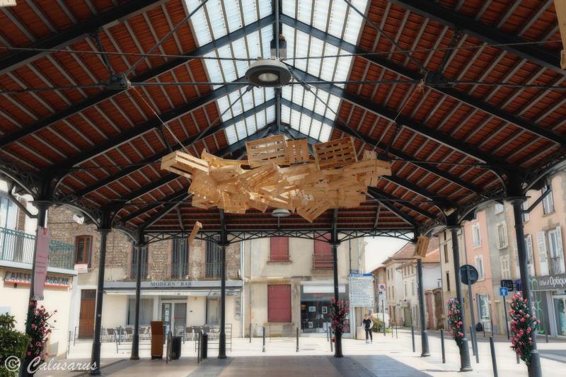 Art Architecture ville Isere