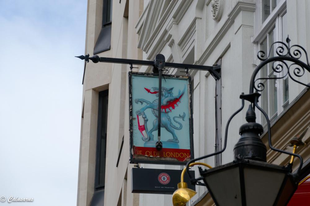 Enseigne Beaux-arts Londres London