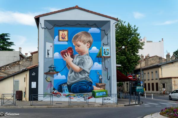 drome 26 Valence Fresque Art