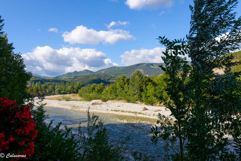 Drome 26 Paysage Pontaix Montagne Riviere