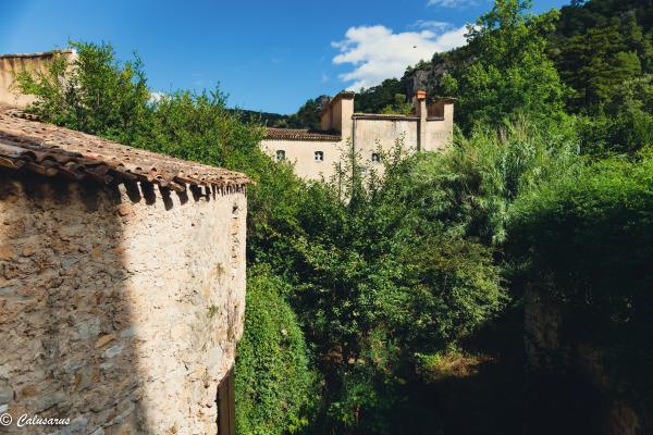 Paysage nature Hérault Architecture