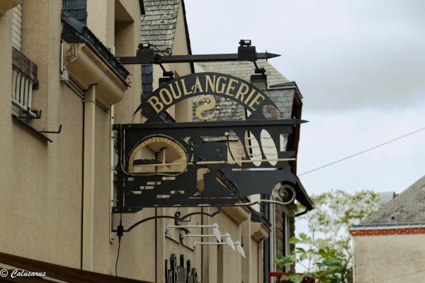 Enseigne Beaux-arts Boulangerie Guerande