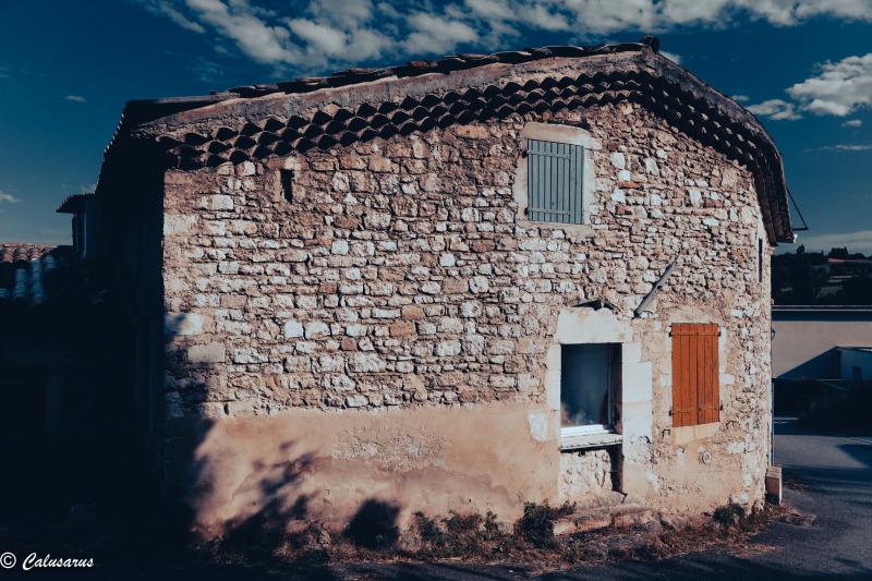 Drome 26 Roche Sur Grane Architecture Couleurs