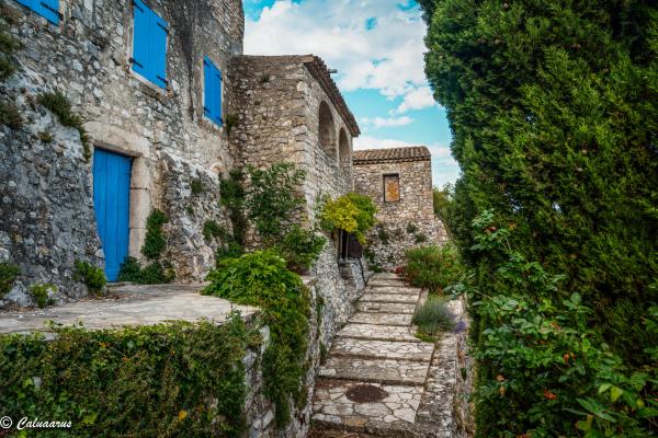 Drome 26 Roche Sur Grane Paysage architecture