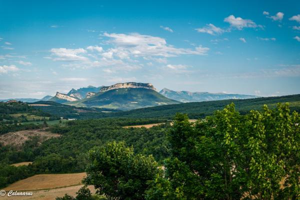 Drome 26 Roche sur Grane Paysage Montagne
