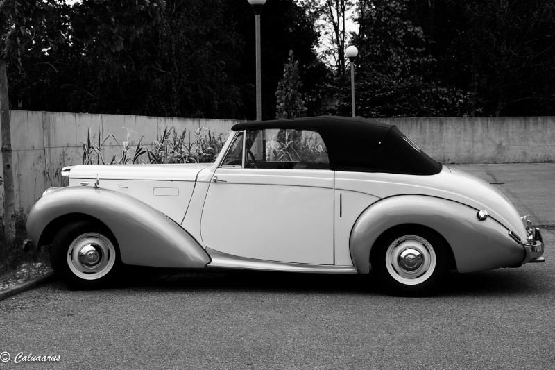 Drome 26 Automobile Montelier Alvis N&B