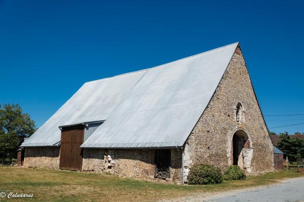Eure CRoisille Grange Barn Architecture