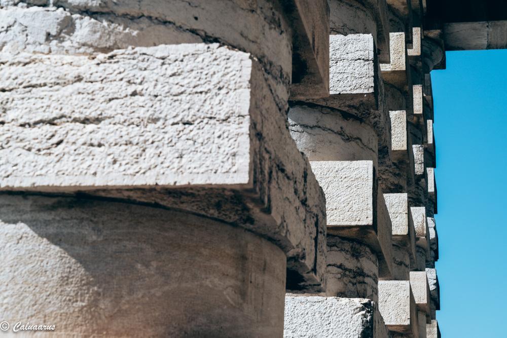 Architecture Colonne Doubs Art Senans Detail