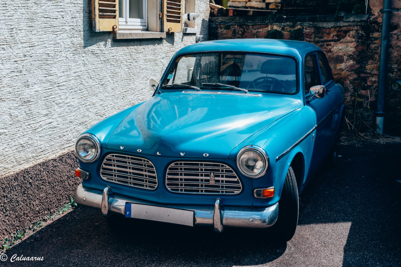 Eguisheim Alsace Automobile transport Volvo
