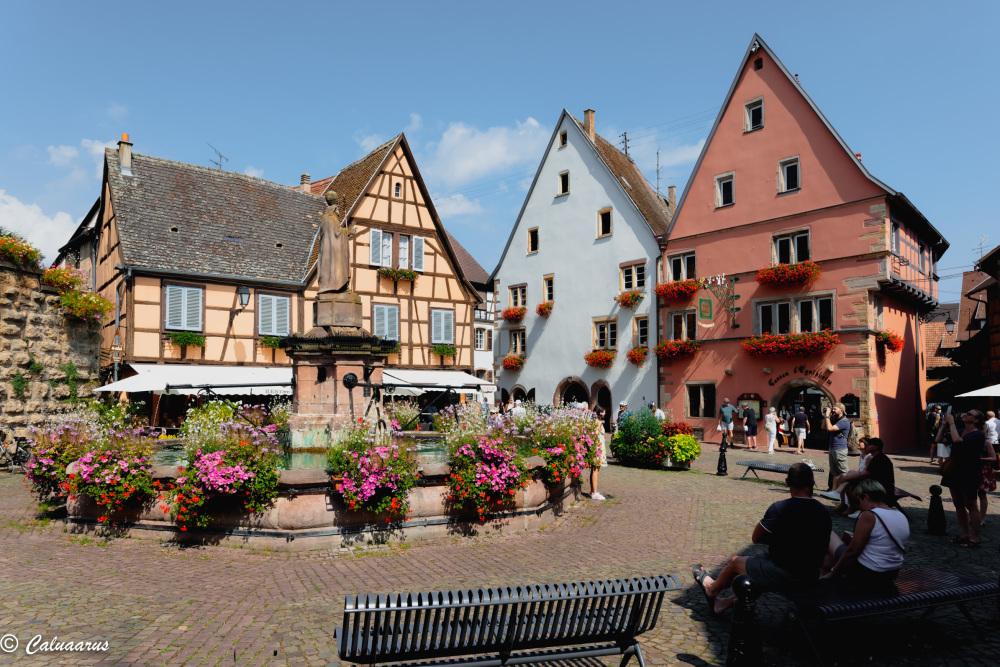Paysage Ville Alsace Eguisheim Cityscape