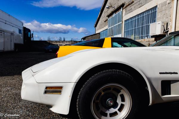 Drome 26 Hostun Corvette Automobile