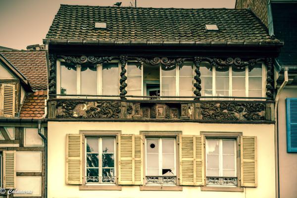 Architecture Beaux-arts Colmar Alsace Haut-Rhin