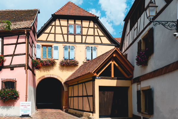 Alsace Haut-Rhin Architecture Colombages