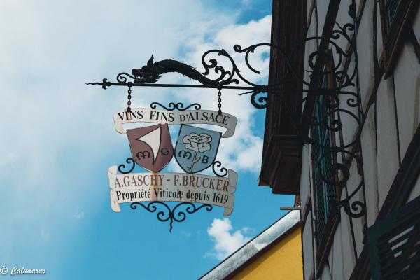 Beaux-arts Enseigne Alsace Wettolsheim