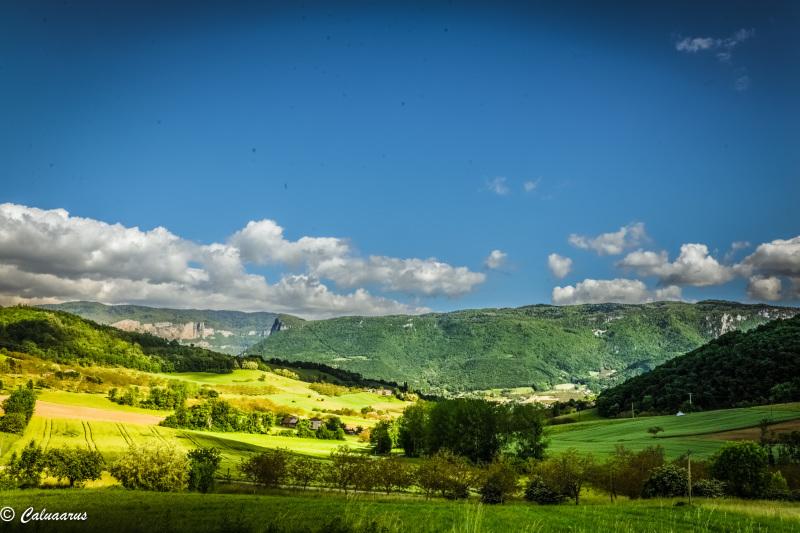 Drome 26 Paysage Nature Vercors Montagne Motte Fan
