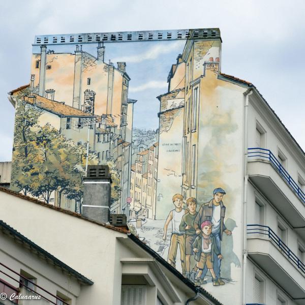 Architecture Mur Beaux-arts Angoulème BD