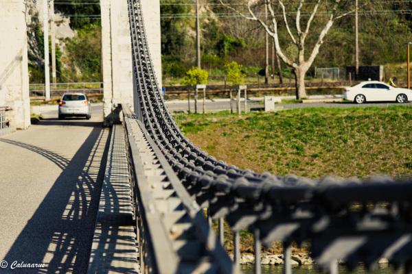Drome 26 Pont Architecture Donner Ombre