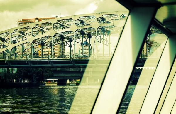 Bridge from Ferry Window
