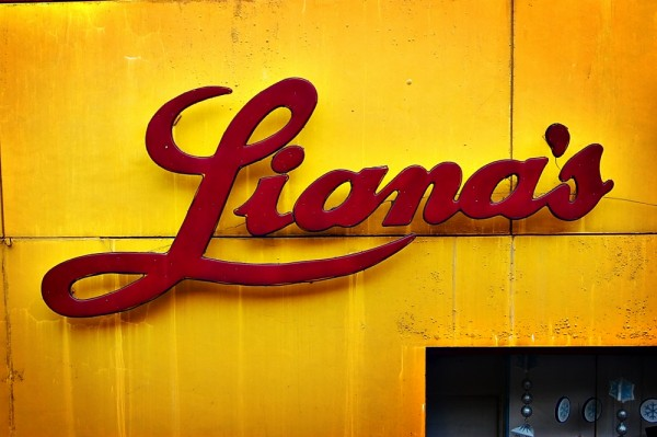 Type Sign of Liana's at Vito Cruz LRT Station
