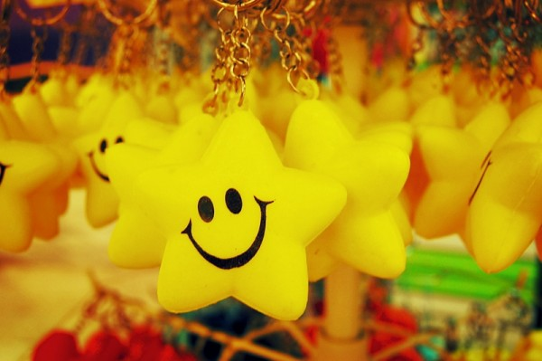 Smiling Star Keychains