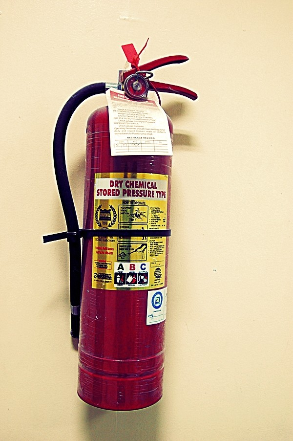 Fire Extinguisher at Astillero Bldg., Legazpi City