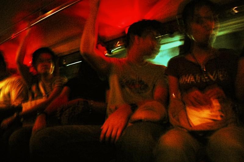 Jeep Passengers at Legazpi City
