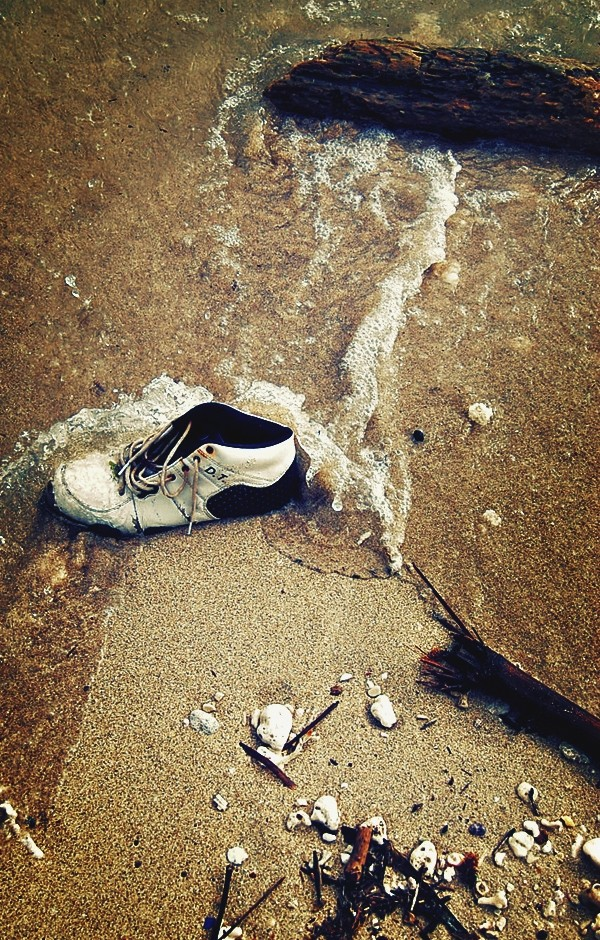 Shoe on Atulayan Shore