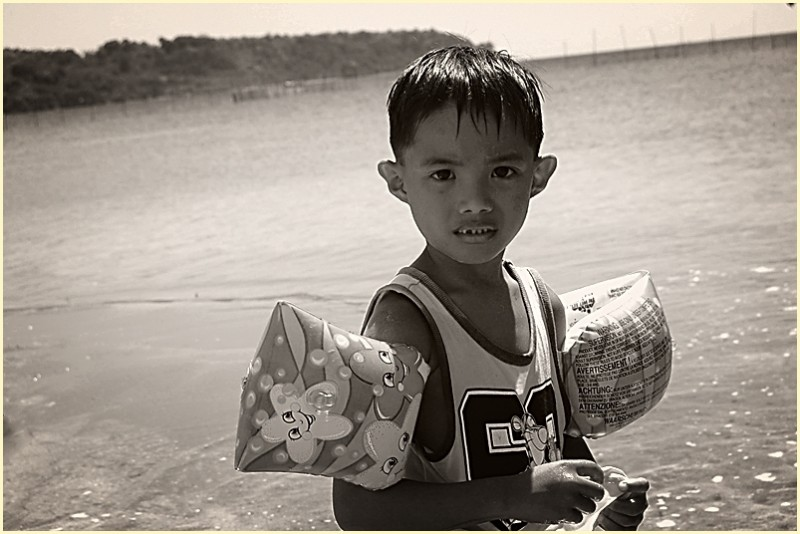 Sunset Cove Boy at Subic, Zambales