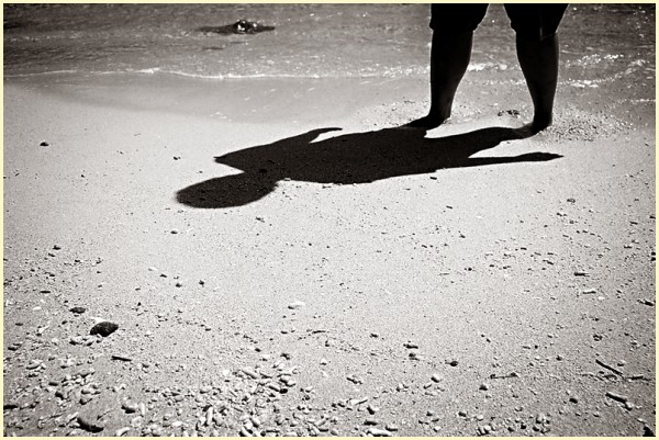 Shadow on the Shore of Atulayan Island