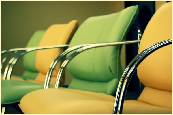 Green and Yellow Chairs