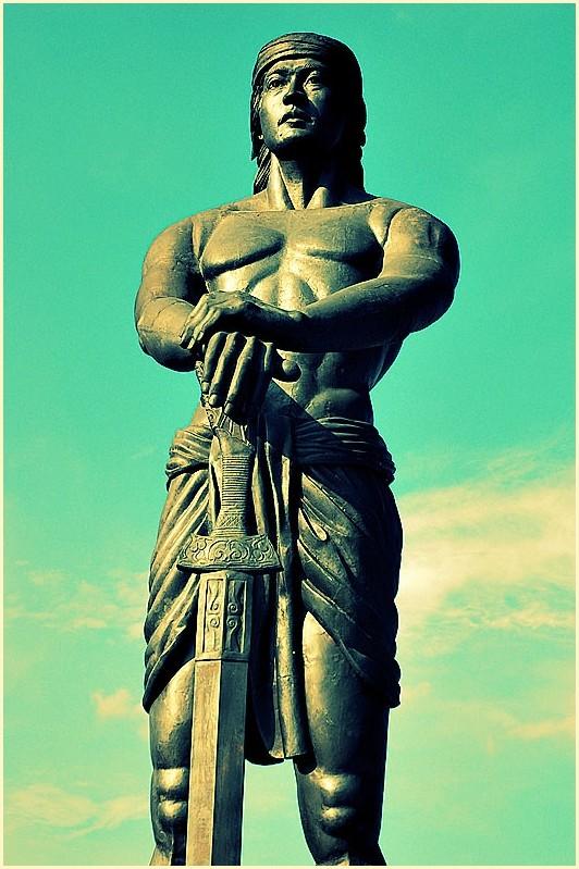 Lapu-Lapu Statue at Luneta Park, Manila