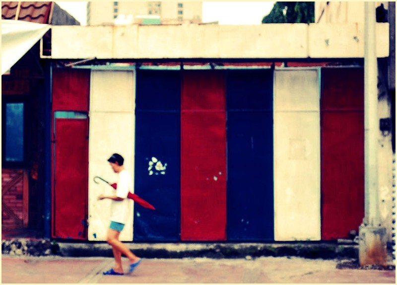 Door Panels of a Barber Shop at Xavierville Ave.