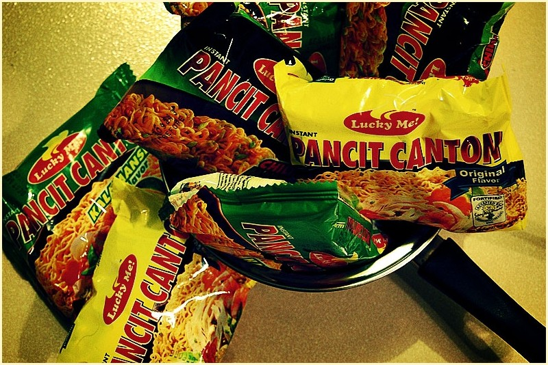 Different Flavors of Lucky Me Pancit Canton