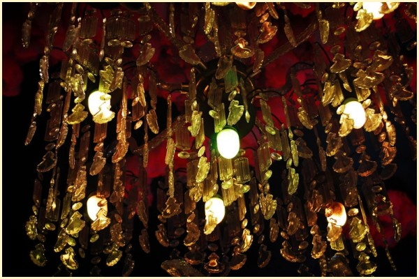 I Love You Shop's Chandelier at Cubao X
