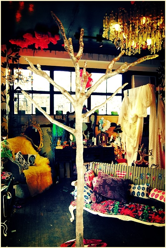 Crystal Tree in the Middle of I Love You Store