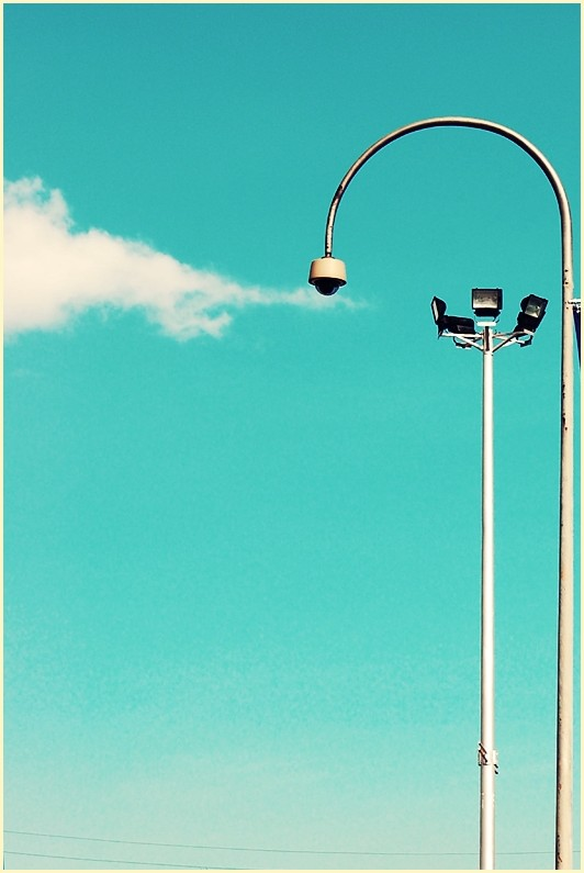 Street Lights at Greenhills Shopping Center