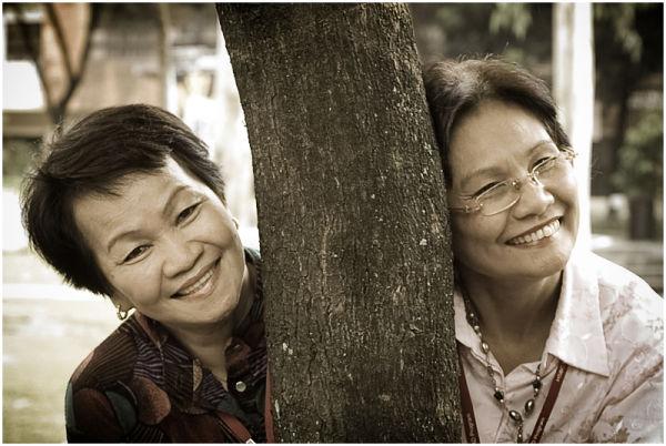 Portrait of Two Filipina Teachers