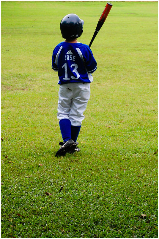 Ateneo Grade School Baseball Boy
