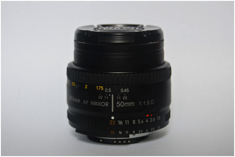 Nikkor 50mm Prime Lens aka Nifty Fifty