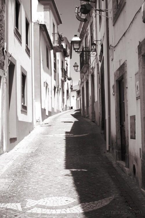 Constância... Rua deserta
