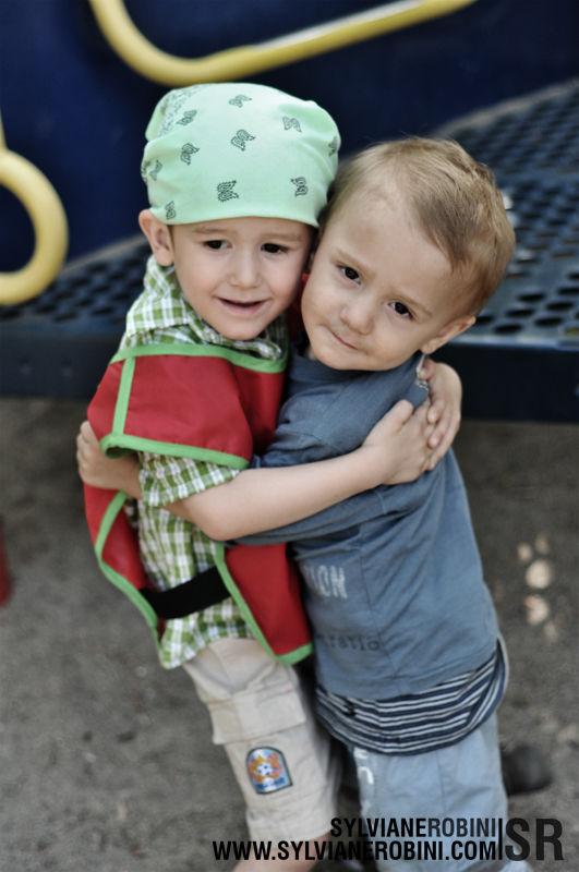 Quand les frères se retrouvent au parc