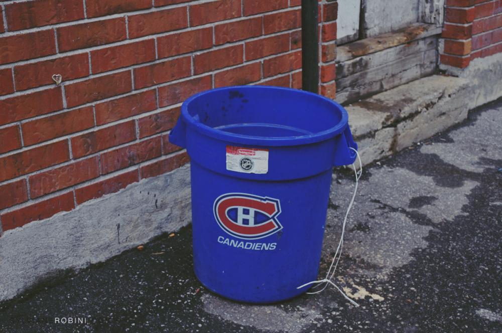 Autenthic trash bin
