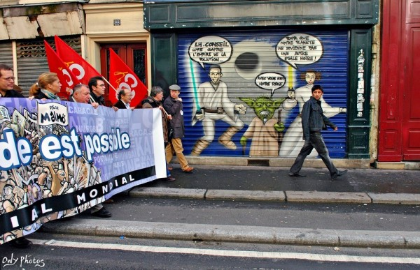 Manifestation altermondialiste