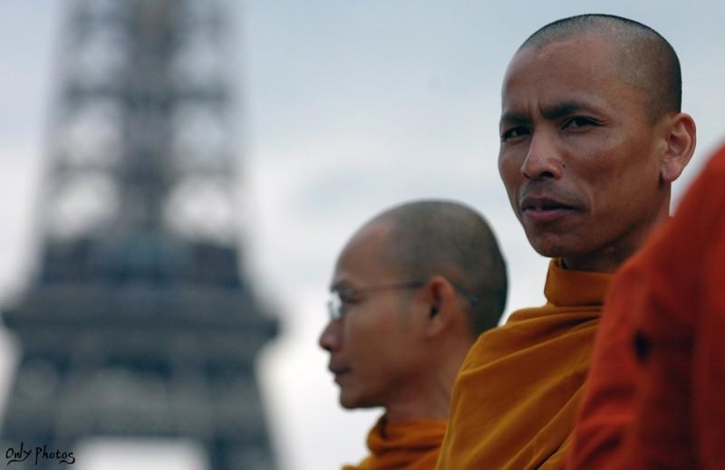 manifestation contre la répression en Birmanie