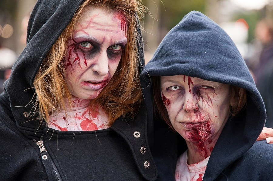 Zombie walk 2013, Paris.