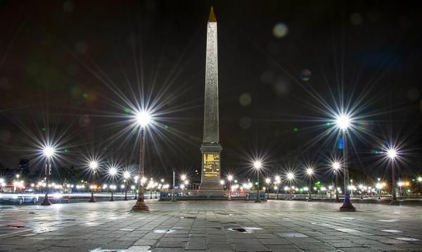 L'Obelisque. Place de la Concorde, Paris.